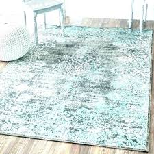 teal and gray area rug black blue grey