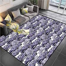 Amazon Com Area Rug Print Large Rug Mat Boys Room Watercolor Sports Car Carpet For Living Room For Kids Yoga Living Room Home Decor Rugs 4 7 X6 6 Kitchen Dining