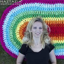 crochet patterns galore oval rag rug