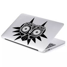 Zelda Majoras Mask Skin Decal Sticker For Car Window Laptop Motorcycle Walls Mirror And More 552 5 X 6 Black Car Stickers Aliexpress