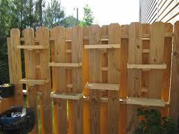 Deck Shelves Ii 37 Jpg 800 600 Pixels Fence Decor Patio Fence Backyard Fences
