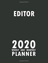editor weekly and monthly planner planner monthly