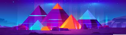 pyramids ilration ultra hd desktop