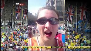 Sky News reporter Adele Robinson runs the London Marathon - YouTube