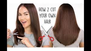 own hair l diy haircut tutorial
