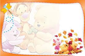 Tarjetas De Cumpleanos Winnie Pooh Para Imprimir Para Protector De