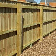 Fence Rails 47x100mm Wooden Rails Pressure Treated Free Delivery Available