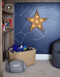 Outer Space Bedroom For A Special Family Young House Love Space Themed Bedroom Space Themed Room Outer Space Bedroom