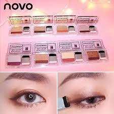 beginner lazy two color eyeshadow