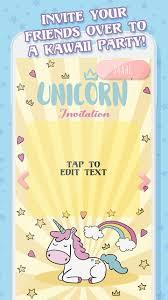 Invitacion De Cumpleanos De Unicornio For Android Apk Download