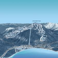 interactive map heavenly ski resort