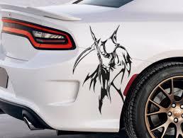 Buy Pair Side Grim Reaper Skull Awesome Tribal Decal Car Truck Van Vinyl Sticker