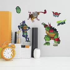 Roommates 25 Piece Rise Of Tmnt Peel And Stick Wall Decal Set Bed Bath Beyond