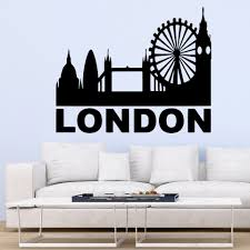 Beauty London Wall Decal Living Room Removable Mural For Baby S Rooms Wall Decoration Murals Wall Stickers Aliexpress