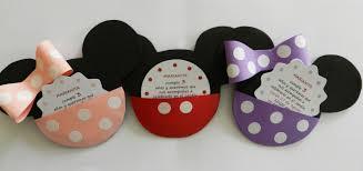 Tarjetas De Cumpleanos De Minnie Mickey Minnie Tarjeta Invitacion