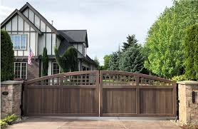 Handcrafted Wood Gates Custom Sizes Beautiful And Durable Side Gates And Driveway Gates