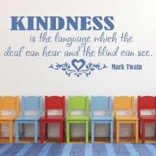 Kindness Mark Twain Quote Wall Decal Sticker Ws 15094 Ebay