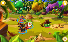 Angry Birds Epic - Battle Screen - Blogging Games