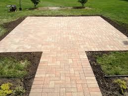 inviting brick patio rustic patio
