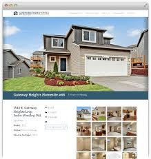 cornerstone homes web design case