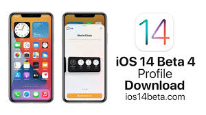 iOS 14 Beta 4 Profile Download - iOS 14 Beta Download