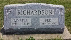 Myrtle Rogers Richardson (1890-1949) - Find A Grave Memorial