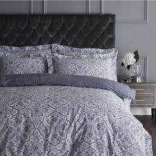 dorma calthorpe blue duvet cover set