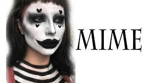 mime halloween makeup tutorial you