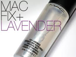 mac fix lavender setting spray makes