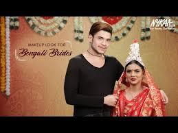 the bengali beauty bridal makeup look