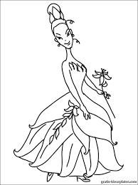 Kleurplaten Van Prinses Tiana Gratis Kleurplaten