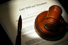 wills probate law legal advice