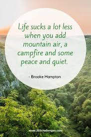 inspiring and funny mountain quotes challenges