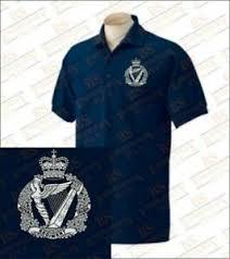 royal irish regiment embroidered polo