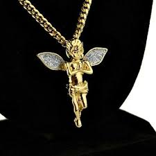 stardust wings 14k gold plated