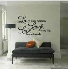 Removable Quote Word Decal Vinyl Diy Home Room Decor Art Wall Sticker Bedroom For Sale Online Ebay