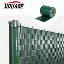 China 19cm 35m Per Roll 450gsm Windproof Privacy Pvc Tarp Strip Screen Fence China Pvc Strip Fence And Privacy Pvc Tarp Price