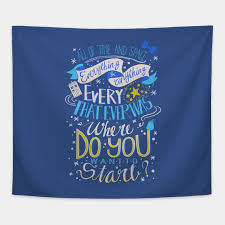 all of time and space typography quote doctor who tapestry