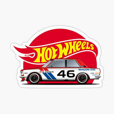 Hot Wheels Stickers Redbubble