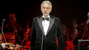 Opera Singer Andrea Bocelli To Perform ...