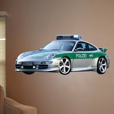 Wallhogs Police Car Ii Cutout Wall Decal Wayfair