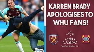 Karren Brady apologises to West Ham ...