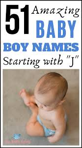 baby boy names starting with j
