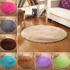 Mega Sale 048ac Fluffy Round Rug Carpets For Living Room Decor Faux Fur Rugs Kids Room Long Plush Rugs For Bedroom Shaggy Rug Modern Mats Cicig Co
