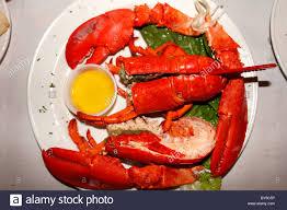 Lobster Dinner High Resolution Stock ...