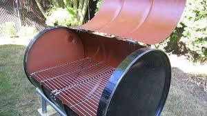 turn a 55 gallon drum into a barbecue
