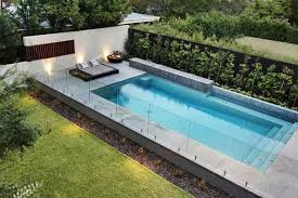 Raised Edge Pool Pool Pinterest Glass Pool Fencing Swimming Pools Backyard Backyard Pool Landscaping