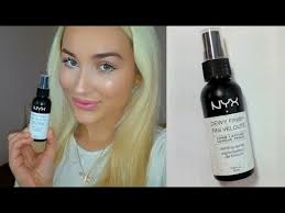 nyx setting spray review affordable