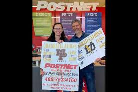 Couple find a winner with high school signs | Business |  eastvalleytribune.com