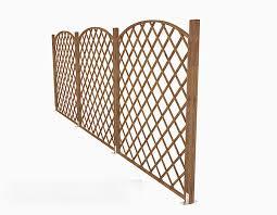 Modern Wood Fence Free 3d Model Max Open3dmodel 509002